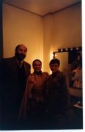 Sergio Casoy, Andrea Ferreira (Oscar Ballo in Maschera) e Geni Casoy-01/06/1997