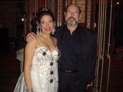 Cecilia Diaz (Dalila) e Sergio Casoy - 22/11/08