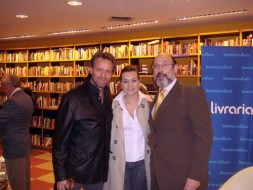 Martin Muhele, Claudia Riccitelli, e Sergio Casoy - 09/12/2009