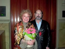 Elena Obrasztova e Sergio Casoy - 22/05/2007