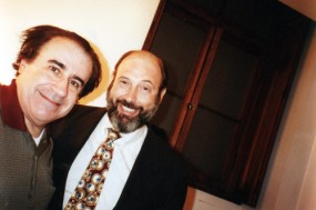Enzo Dara e Sergio Casoy - TMSP - 06/11/1997
