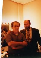 Enzo Dara e Sergio Casoy - 06/11/1997