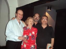 Heraldo Marin, Niza de Castro Tank,Sergio Casoy, Almeida Prado - 11/04/2007