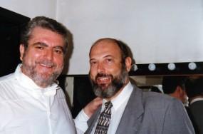 Juan Pons e Sergio Casoy -  08/04/1998