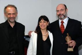 Jamil Maluf,Luigina Peddi e Sergio Casoy - TMSP - 24/08/2008