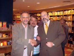 Jamil Maluf, Marcus Goes e Sergio Casoy- 09/12/2009