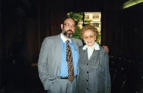 Sergio Casoy e Magda Olivero - 15/10/1998