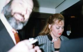 Sergio Casoy e Olga Borodina - 03/09/1997
