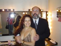 Andrea Ferreira e Sergio Casoy -29.11.2003