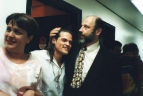 Celine Imbert, Fernando Portari e Sergio Casoy-6.11.1997