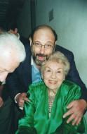 Fedora Barbieri e Sergio Casoy-Junho/2002