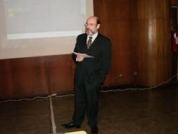 Palestrando no Circolo Italiano di San Paolo - 14.04.2010