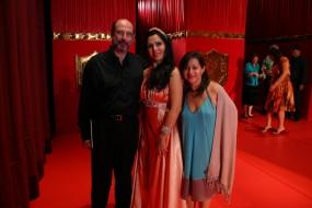 Sergio Casoy, Luciana Bueno (Cenerentola em Belém) e Cris Rossetto-09/2007