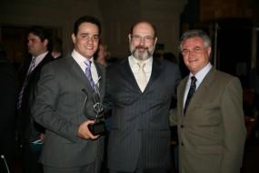 Leonardo Neiva, Sergio Casoy e Silvestre Gorgulho-11.05.2009