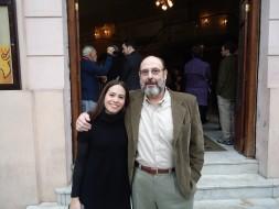 Lina Mendes e Sergio Casoy