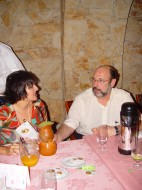 Maria Zouves, (Sra.Sherill  Milnes) e Sergio Casoy-15.09.2006