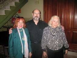 Maria Rosa Sabatelli, Sergio Casoy e Irene Amato Vigorito-T.S.Pedro-18.10.2009