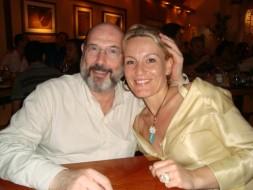 Sergio Casoy e Michelle Canniccioni-04.03.2009