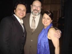 Attala Ayan, Sergio Casoy e a pianista Marília Caputo-T.S.Pedro-28.06.2010