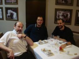 Sergio Casoy, Giuseppe Varano, Enrico Marrucci-17.10.2009