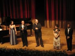 Dana Radu, Giuseppe Varano, Sergio Casoy, Artemisa Repa, Enrico Marrucci-18.10.2009