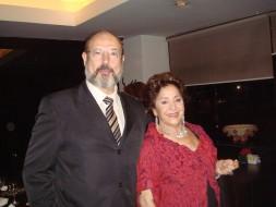 Sergio Casoy e Teresa Berganza - 30.11.2009