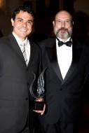 Rodrigo Esteves e Sergio Casoy - XIII Prêmio Carlos Gomes - 05.05.2010