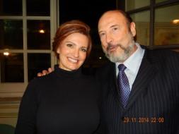 Ainhoa Arteta (Tosca)  e Sergio Casoy-Tosca TMSP-29.11.2014
