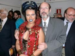Andreia Souza (Herodiades) e Sergio Casoy - Belém 24.11.2012
