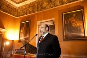 Apresentando o concerto do vencedor do Concurso de Canto Barroco no Castelo Ruspoli em Vignanello-2.10.2011