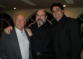 Benito Maresca, Sergio Casoy e Marcello Vannucci-22.06.2007