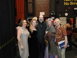 Andrea Chenier em BH, 2010:Claudia Malta, Janette Dornellas,Ruth Staerke, Sergio Casoy,Luiz Aguiar.