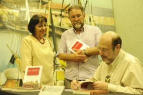 Profa.Maria Sylvia Nunes, Paulo Chaves, Sec.Cultura do Governo do Pará e Sergio Casoy-Set.2011