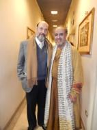 Sergio Casoy e Leo Nucci (Nabucco) após a récita de 30.01.2014-Teatro Comunale Firenze