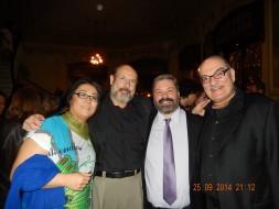 Eiko Senda, Sergio Casoy, Boris e Eduardo Janho-Abumrad-Estreia ARTEMIS-T.S.Pedro