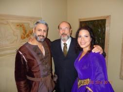 Enrico Giuseppe Iori (Ferrando), Sergio Casoy, Susanna Branchini (Leonora)-IL TROVATORE-8.03.14