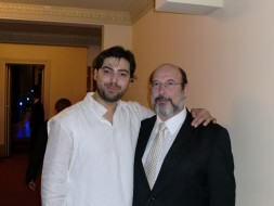 Eric Herrero (Ismaele) e Sergio Casoy-Nabucco Rio 23.7.11