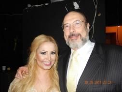 Gabriella Rossi (Desdemona) e Sergio Casoy-Theatro da Paz-20.09.2014