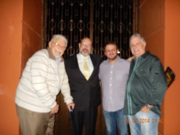 Gyorgy Bohm, Sergio Casoy, João Luiz Sampaio, Gilberto Chaves-Theatro da Paz 20.09.2014-Otello