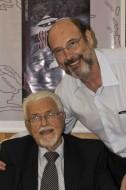 Prof.Gyorgy Bohm (autor do livro CARUSO) e Sergio Casoy-15.02.2011