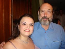 Laryssa Alvarazi e Sergio Casoy-19.12.2010