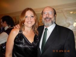 Lidia Schäffer (Mamma Lucia) e Sergio Casoy-Cavalleria TMSP-18.10.14