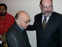 Maestro José Antonio Abreu e Sergio Casoy-19.06.2011