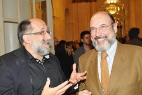 Maestro Luis Gustavo Petri e Sergio Casoy-TMSP -29.05.2014