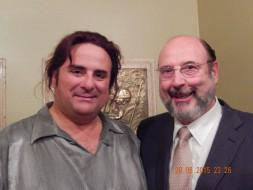 Marcello GIordani (Des Grieux) e Sergio Casoy-TMSP 29.08.2015