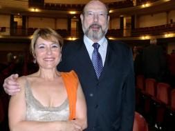 Maria Bayo e Sergio Casoy - 16.09.2011