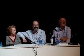 Niza de Castro Tank, Sergio Casoy, Abel Rocha-UNESP 21.08.2012