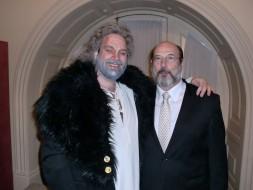 Rodolfo Giugliani (Nabucco) e Sergio Casoy - TMRJ 23.07.11