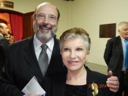 Sergio Casoy e Mariella Devia-28.08.2014-T.S.Pedro
