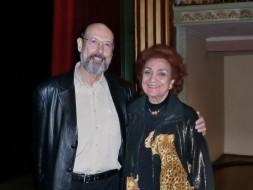 Sergio Casoy e Tita Bruson, esp.Renato Bruson-28.04.2012